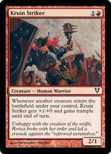 Magic the Gathering Avacyn Restored Single Card Red Common #143 Kruin Striker
