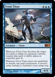 Magic the Gathering Magic 2011 (M11) Single Card Mythic Rare #55 Frost Titan