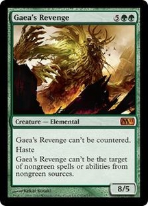 Magic the Gathering Magic 2011 (M11) Single Card Mythic Rare #174 Gaea's Revenge