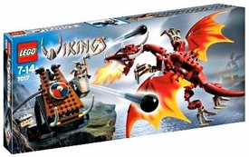 LEGO Vikings Set #7017 Viking Catapult Versus the Nidhogg Dragon