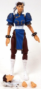 Sota Toys Street Fighter Series 1 Action Figure LOOSE Chun-Li [Blue]