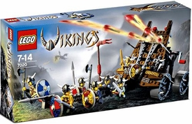 LEGO Vikings Set #7020 Army of Vikings with Heavy Artillery Wagon