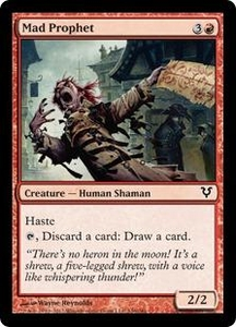 Magic the Gathering Avacyn Restored Single Card Red Common #146 Mad Prophet