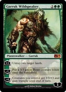 Magic the Gathering Magic 2011 (M11) Single Card Mythic Rare #175 Garruk Wildspeaker