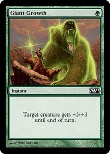 Magic the Gathering Magic 2011 (M11) Single Card Common #178 Giant Growth