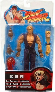 Sota Toys Street Fighter Action Figures Ken Purple Gi Variant