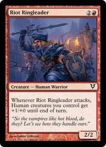 Magic the Gathering Avacyn Restored Single Card Red Common #152 Riot Ringleader