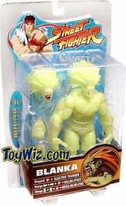 Sota Toys Street Fighter Series 2 Exclusive Action Figure Glow-in-the-Dark Blanka