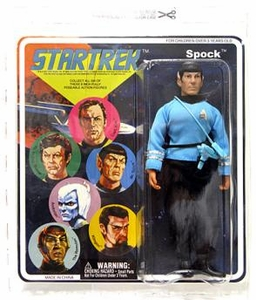 Diamond Select Star Trek Original Series 2 Cloth Retro Action Figure Spock