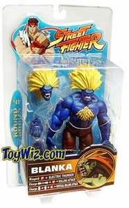 Sota Toys Street Fighter Series 2 Exclusive Action Figure Blanka (Blue w/ Yellow Hair)