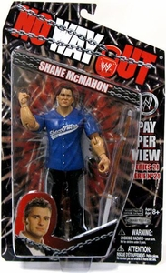 WWE Wrestling PPV Pay Per View Series 21 No Way Out Action Figure Shane McMahon
