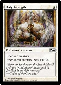 Magic the Gathering Magic 2011 (M11) Single Card Common #16 Holy Strength