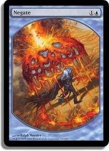 Magic the Gathering Textless Player Rewards Promo Card Negate [Textless Player Rewards]