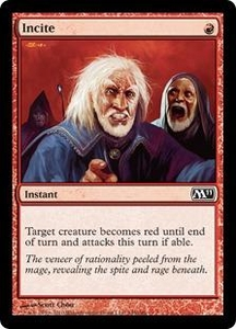 Magic the Gathering Magic 2011 (M11) Single Card Common #145 Incite