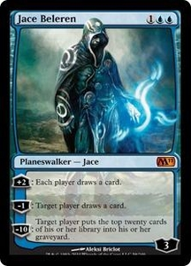 Magic the Gathering Magic 2011 (M11) Single Card Mythic Rare #58 Jace Beleren