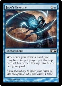 Magic the Gathering Magic 2011 (M11) Single Card Common #59 Jace's Erasure