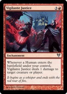 Magic the Gathering Avacyn Restored Single Card Red Uncommon #165 Vigilante Justice