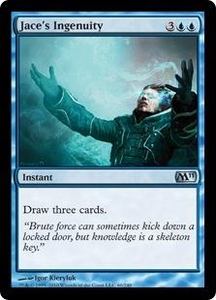 Magic the Gathering Magic 2011 (M11) Single Card Uncommon #60 Jace's Ingenuity