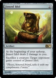 Magic the Gathering Magic 2011 (M11) Single Card Rare #208 Jinxed Idol