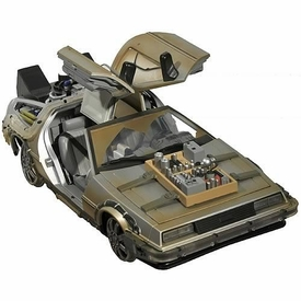 Diamond Select Back To The Future III Vehicle Rail Ready Delorean Time Machine