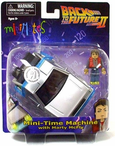 Minimates Back To The Future Part II Mini Time Machine [With Marty McFly]