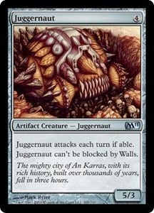 Magic the Gathering Magic 2011 (M11) Single Card Uncommon #209 Juggernaut