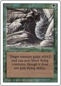 Magic the Gathering Revised Edition Single Card Rare Web