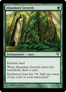 Magic the Gathering Avacyn Restored Single Card Green Common #167 Abundant Growth