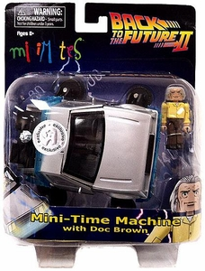 Back to The Future Minimates  Exclusive Time Machine Vehicle [Back to the Future Part 2]