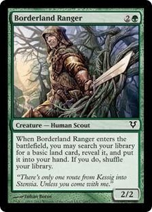 Magic the Gathering Avacyn Restored Single Card Green Common #169 Borderland Ranger