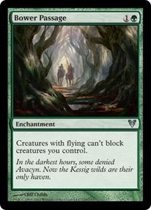 Magic the Gathering Avacyn Restored Single Card Green Uncommon #170 Bower Passage