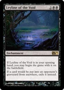 Magic the Gathering Magic 2011 (M11) Single Card Rare #101 Leyline of the Void