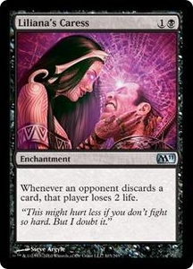 Magic the Gathering Magic 2011 (M11) Single Card Uncommon #103 Liliana's Caress