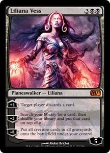 Magic the Gathering Magic 2011 (M11) Single Card Mythic Rare #102 Liliana Vess