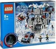 LEGO Alpha Team Set #4748 Ogel's Mountain Fortress