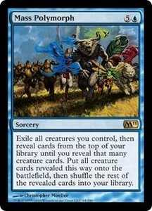 Magic the Gathering Magic 2011 (M11) Single Card Rare #64 Mass Polymorph