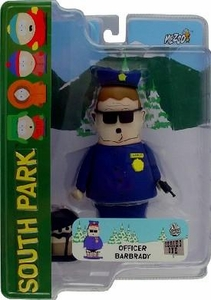 Mezco Toyz South Park Series 1 Action Figure Officer Barbrady BLOWOUT SALE!