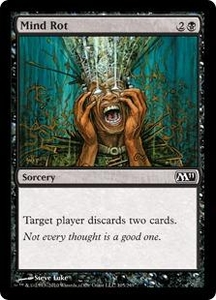 Magic the Gathering Magic 2011 (M11) Single Card Common #105 Mind Rot