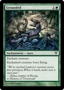 Magic the Gathering Avacyn Restored Single Card Green Common #181 Grounded