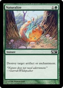 Magic the Gathering Magic 2011 (M11) Single Card Common #186 Naturalize