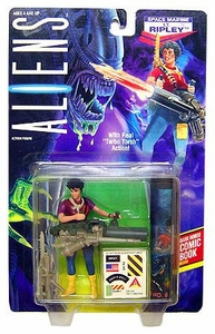 Aliens Kenner Vintage 1992 Action Figure Space Marine Lt. Ripley [Turbo Torch Action]