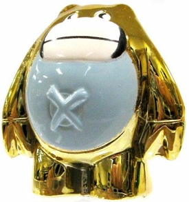 Crazy Bones Gogo's Gold Series Limited Edition Tin LOOSE Single Figure Gold Boki