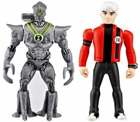 Ben 10 Alien Creation Chamber Mini Figure 2-Pack Nanomech & Albedo