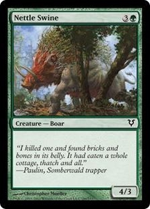 Magic the Gathering Avacyn Restored Single Card Green Common #186 Nettle Swine