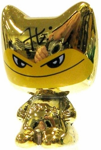 Crazy Bones Gogo's Gold Series Limited Edition Tin Set LOOSE Single Figure Gold Jato