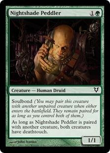 Magic the Gathering Avacyn Restored Single Card Green Common #187 Nightshade Peddler