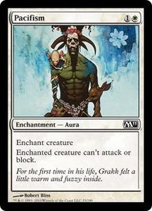 Magic the Gathering Magic 2011 (M11) Single Card Common #23 Pacifism