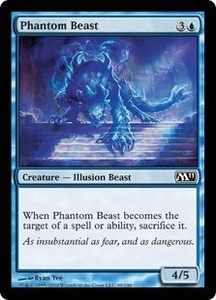 Magic the Gathering Magic 2011 (M11) Single Card Common #69 Phantom Beast