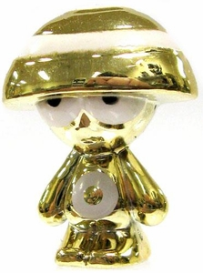 Crazy Bones Gogo's Gold Series Limited Edition Tin LOOSE Single Figure Gold Targy