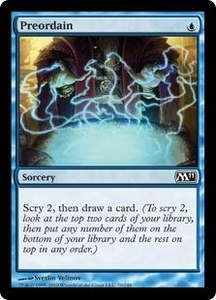 Magic the Gathering Magic 2011 (M11) Single Card Common #70 Preordain